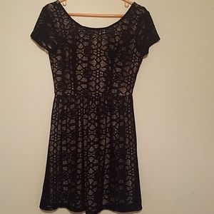 Speechless juniors' lace over dress
